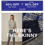 Coupon for: Banana Republic - What makes this skinny pant our #1 customer fave