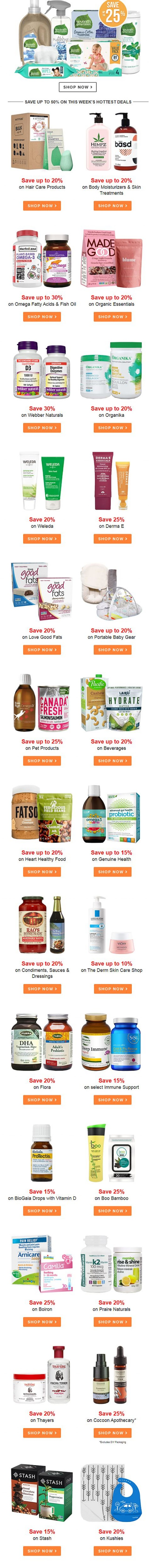 Coupon for: Well.ca - JUST IN! Up to 30% off this week's deals!