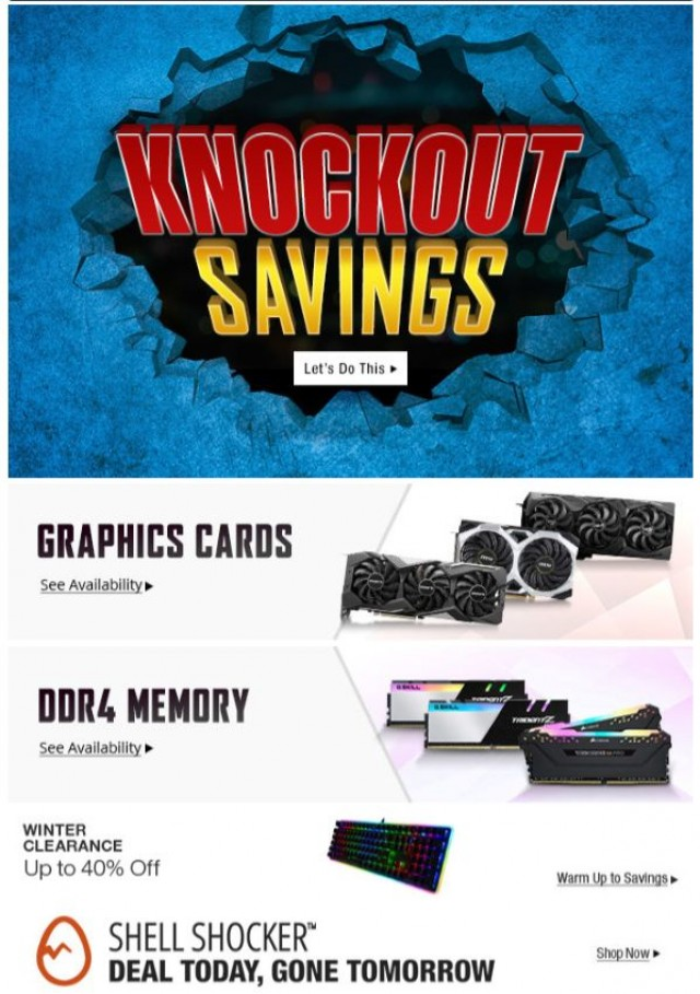 Coupon for: Newegg.ca - Stunning Savings on Kingston Flash Drives, Creative Speakers, Rosewill RGB Keyboards + Mice