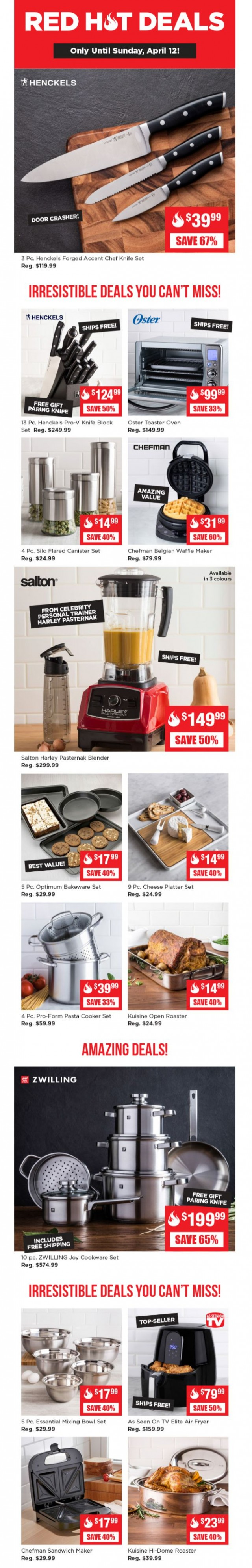 Coupon for: Kitchen Stuff Plus - Here are your Red Hot Deals