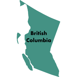 Second Cup stores in British Columbia