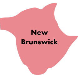 Second Cup stores in New Brunswick