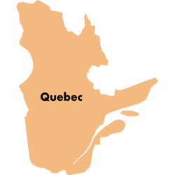 Second Cup stores in Quebec