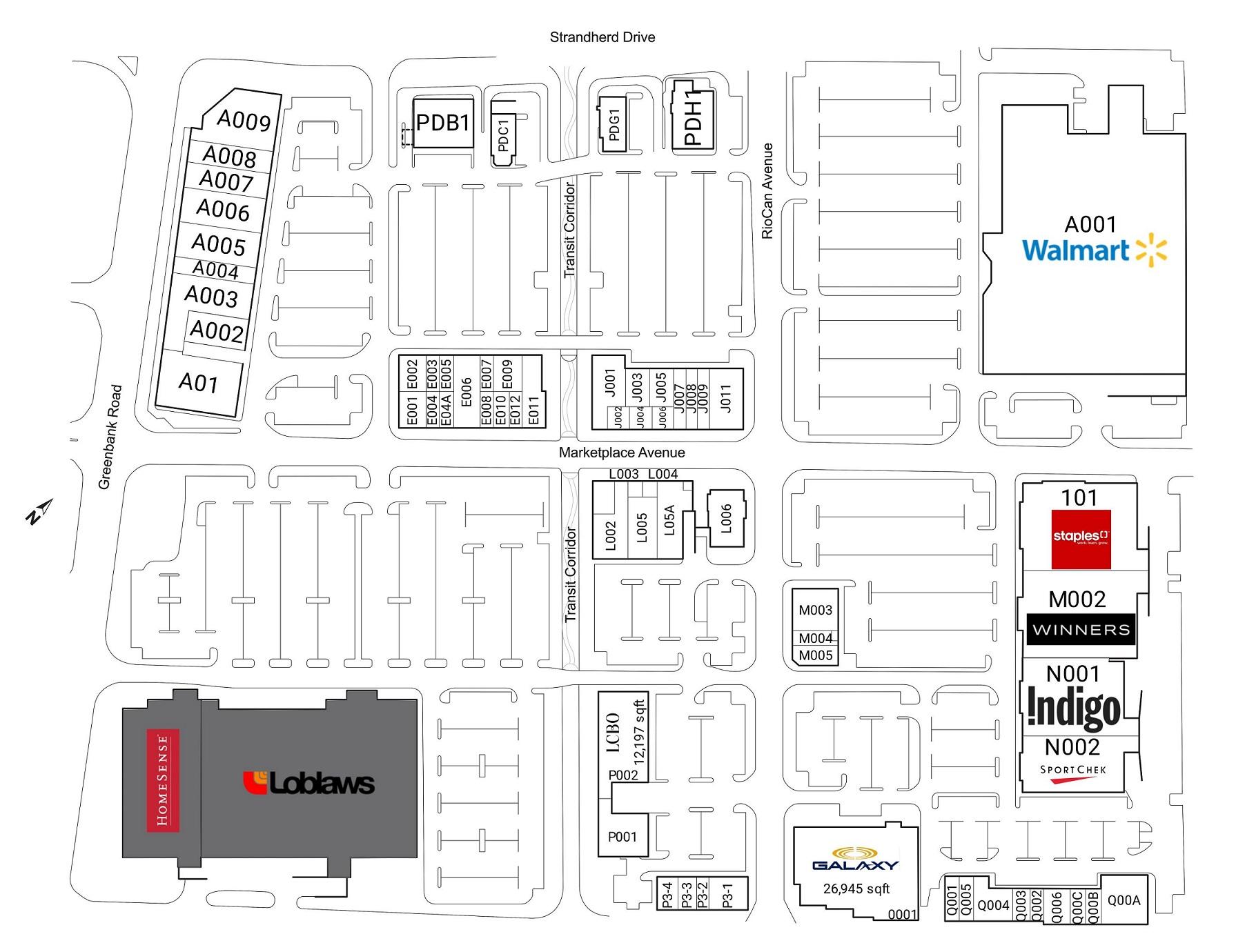 Chapman Mills Marketplace in Ottawa, Ontario - 66 stores - (location ...