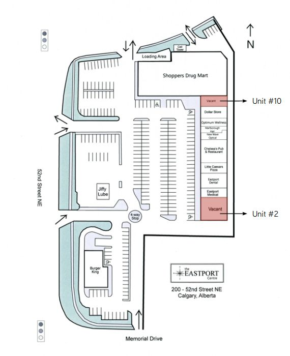 Eastport Shopping Centre in Calgary, Alberta - 14 Stores