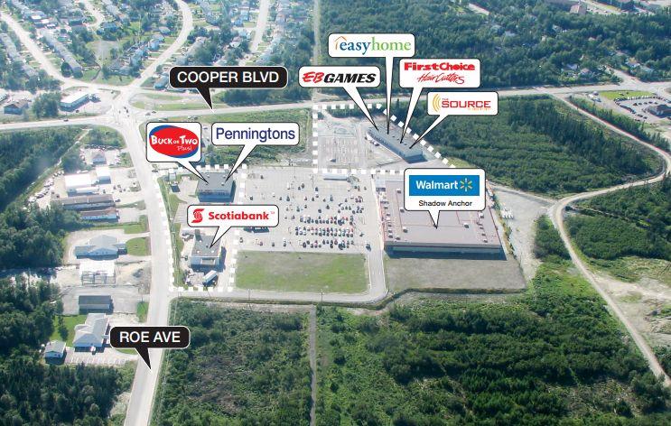 Gander Canada Map.Gander Shopping Center In Gander Newfoundland And Labrador 11