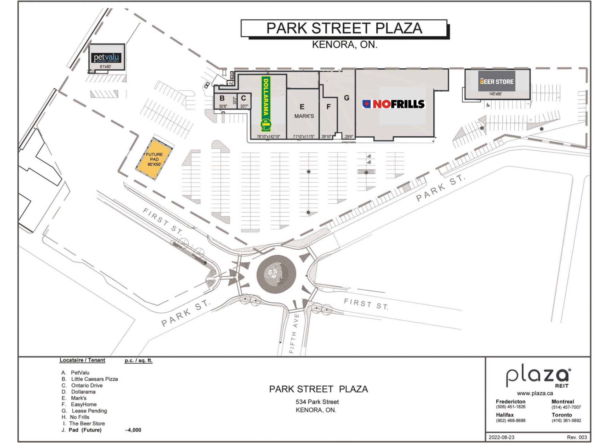 Map Of Kenora Canada.Kenora Shoppers Mall Park Street Plaza In Kenora Ontario 12
