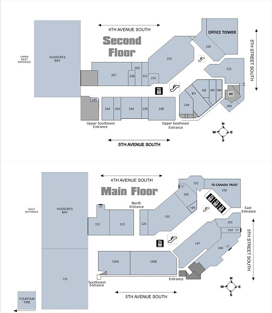 Lethbridge Centre in Lethbridge Alberta 56 stores location