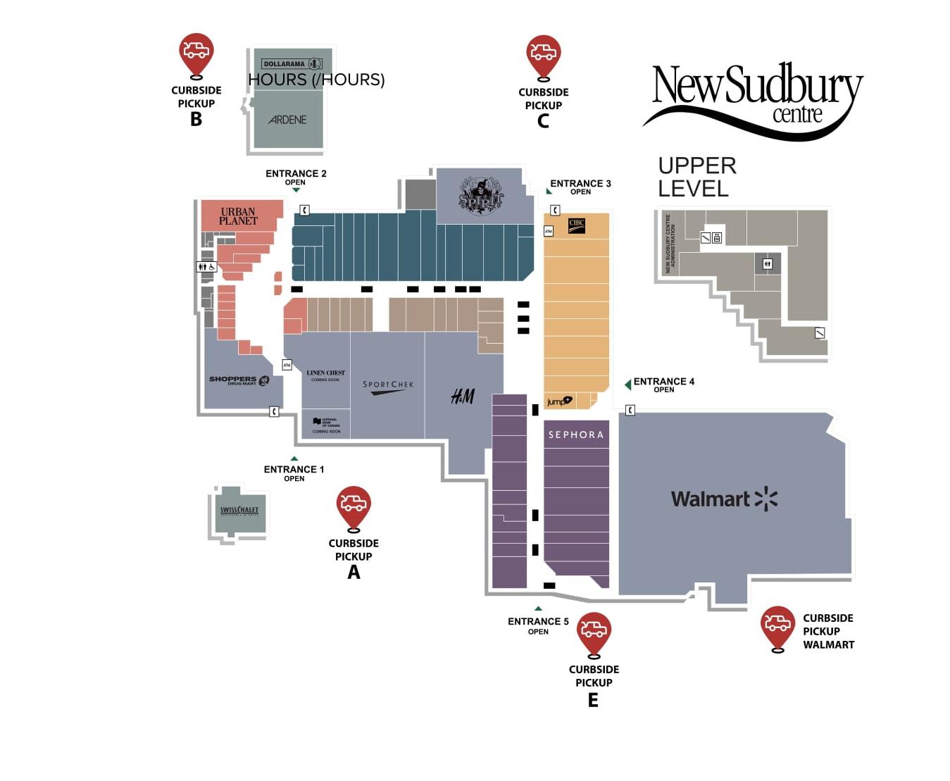 Gps Phone Locator >> New Sudbury Centre in Sudbury, Ontario - 106 stores - (location, hours, store list) | Shopping ...