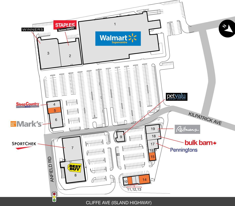SmartCentres Courtenay Located In Courtenay British
