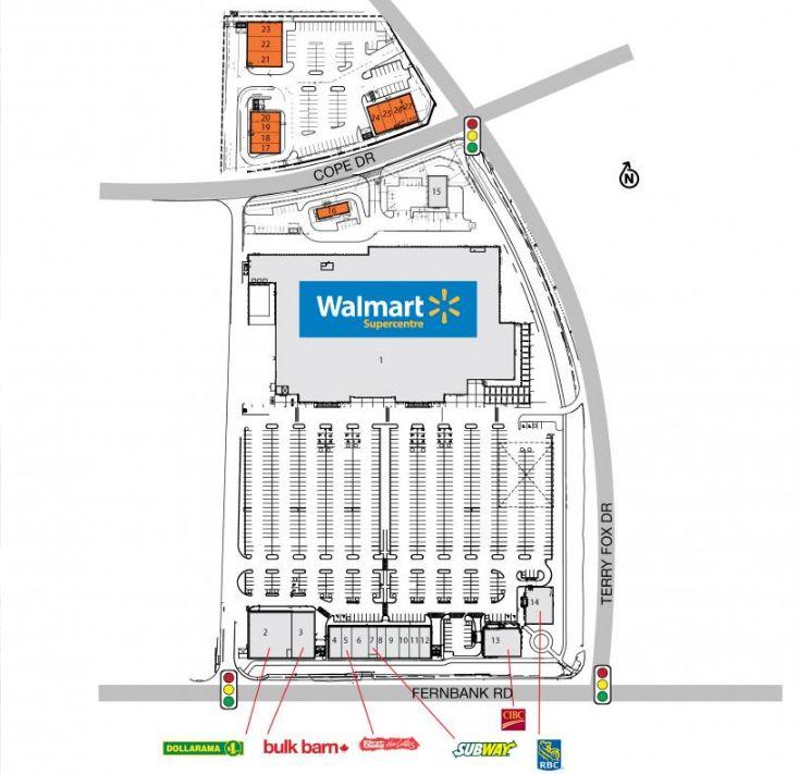Smartcentres Kanata in Kanata Ontario 14 stores location