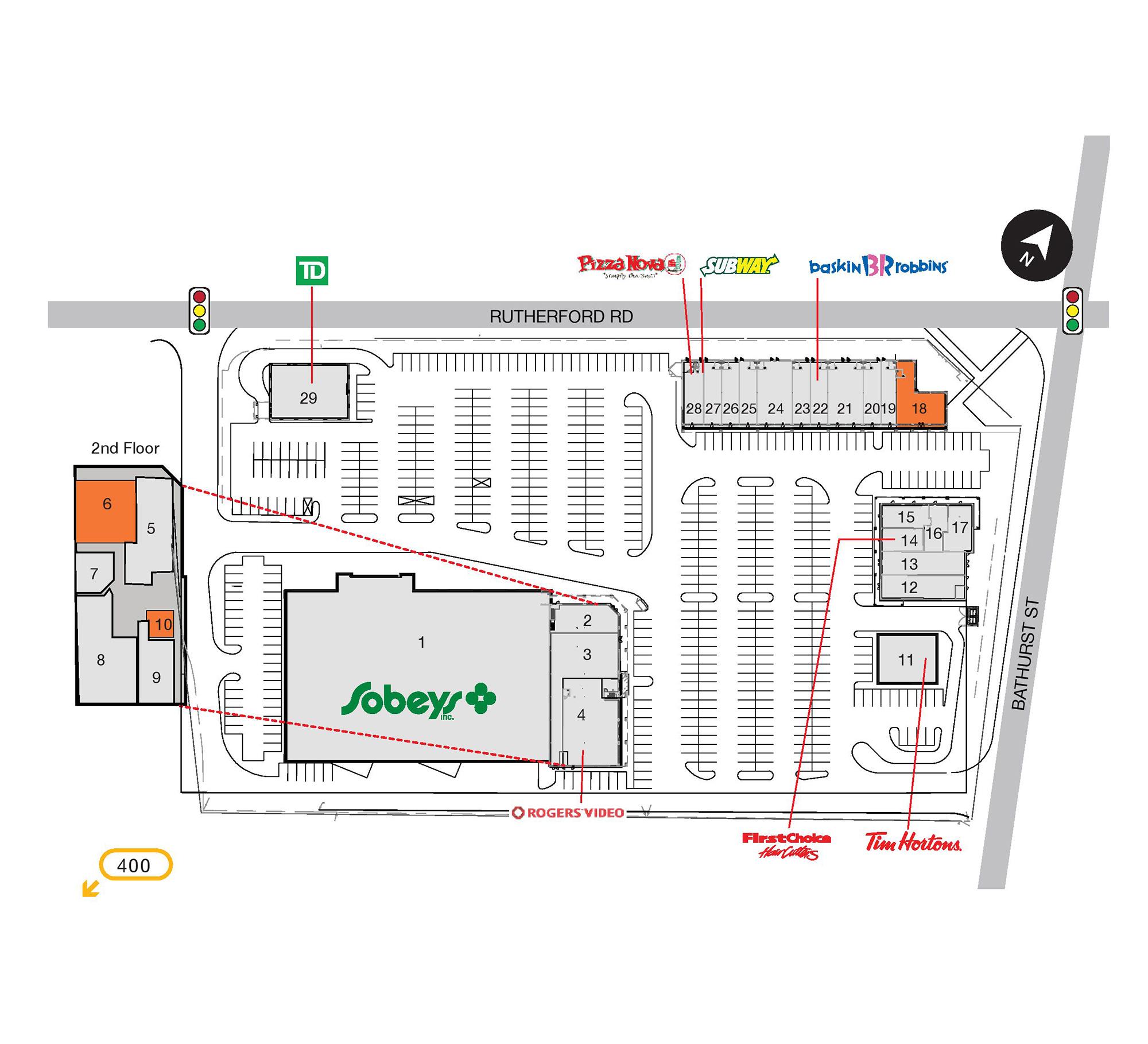 SmartCentres Vaughan in Vaughan Ontario 6 stores location
