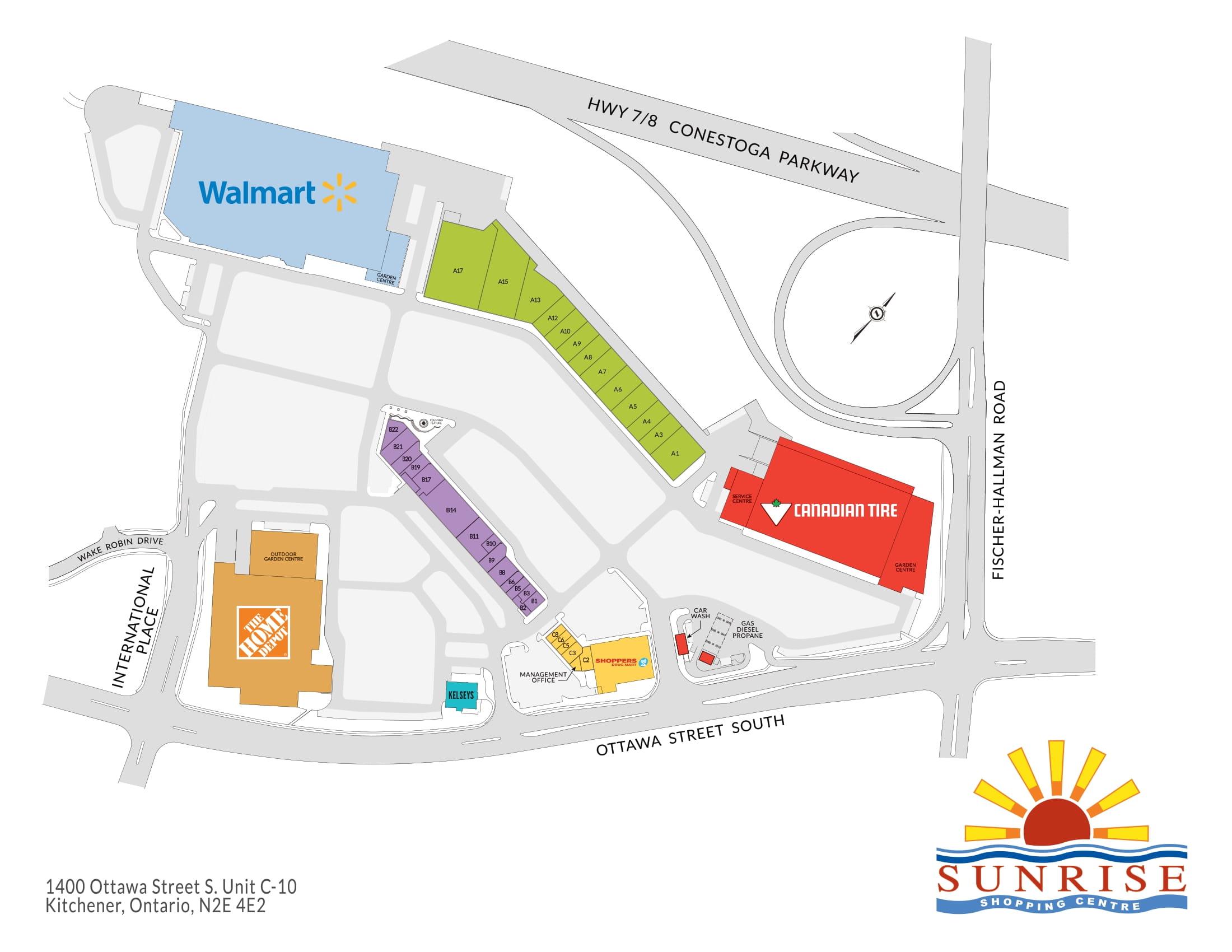 Stores At Sunrise Mall Kitchener