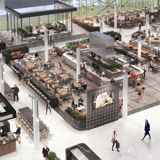 Image for article: Centre Rockland – Vibrant Food Court Coming