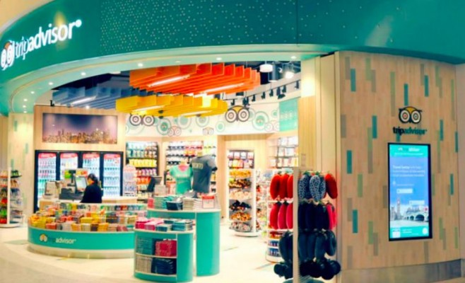 Image for article: Shop In First Trip Advisor Store In The World Located In Canada!