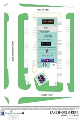 Lakeshore & Kerr (146 Lakeshore Road West) plan