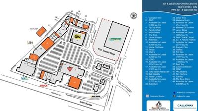401 Weston Centre plan