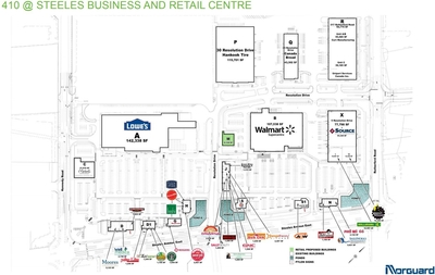 410 At Steeles Business Centre plan