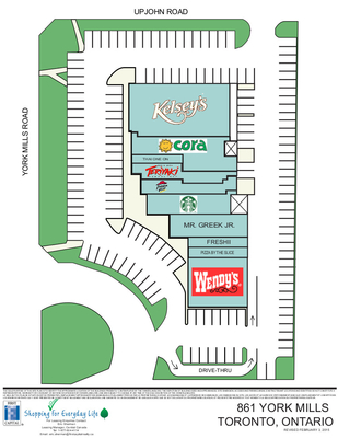 861 York Mills plan