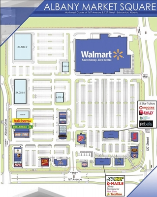 Albany Market Square plan