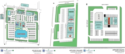 Appleby Mall - (Appleby Village/Appleby South/Appleby Square) plan