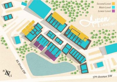Aspen Landing Shopping Centre plan