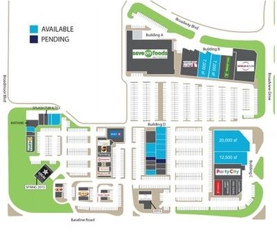 Baseline Village Mall plan