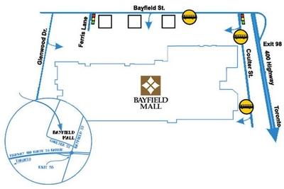 Bayfield Mall plan