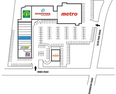 Blackburn Shoppes plan
