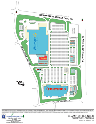 Brampton Corners plan