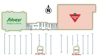 Bridgeview Plaza plan