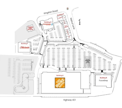 Brookdale Centre plan
