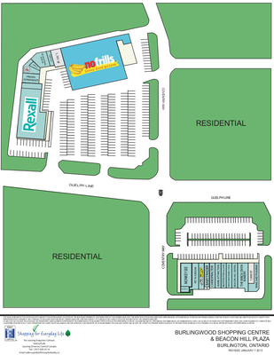 Burlingwood Shopping Centre & Beacon Hill Plaza plan