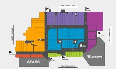 Carlingwood Shopping Centre plan