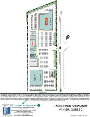 Carrefour Soumande plan