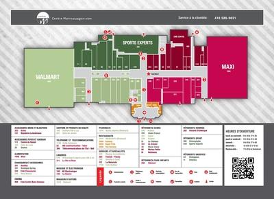 Centre Manicouagan plan