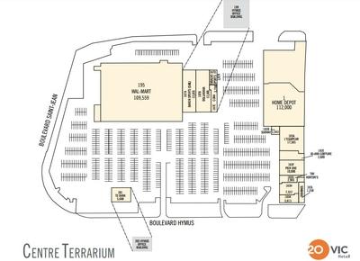 Centre Terrarium plan