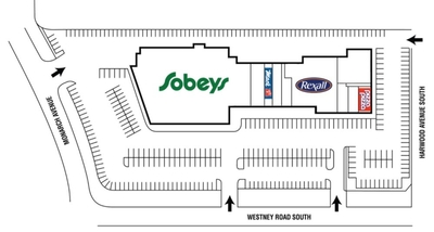 Clover Ridge Plaza plan
