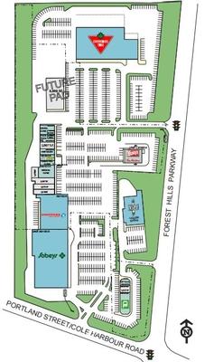 Cole Harbour Shopping Centre plan