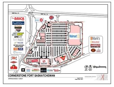 Cornerstone Fort Saskatchewan plan
