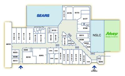 County Fair Mall plan