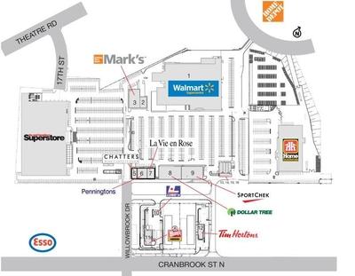 Cranbrook SmartCentre plan