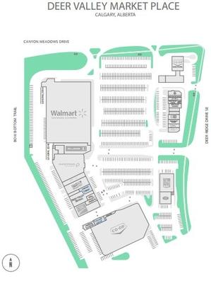 Deer Valley Market Place plan