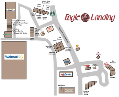 Eagle Landing Centre plan