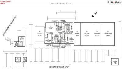 Eastcourt Mall plan