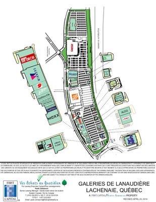 Galeries de Lanaudière plan