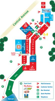 Greenwood Mall plan