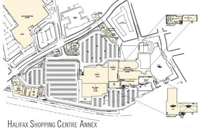 Halifax Shopping Centre Annex plan