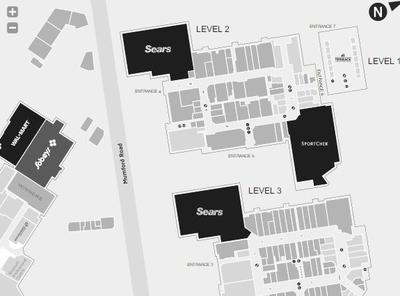 Halifax Shopping Centre plan
