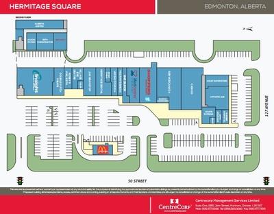 Hermitage Square plan